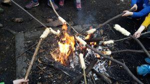 Shir Khan erstes Feuer